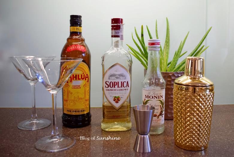 Hazelnut Espresso Martini